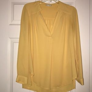 Pleione yellow blouse